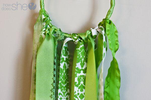 Ribbon rings for nursery
