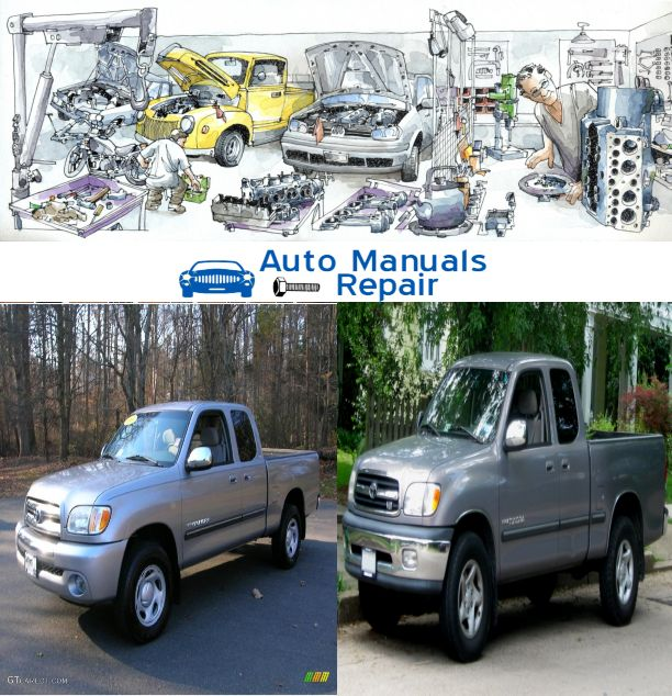 Toyota Tundra Service Repair Manual 2000 2003 Contain:  Introduction Instrument Cluster Entertainment Systems Climate Controls Lights Driver Controls Locks and Security Seating and Safety Restraints Driving Customer Assistance Reporting safety defects Cleaning Maintenance and Specifications Engine compartment Engine oil Battery Fuel information Air filter(s) Part numbers Refill capacities Lubricant specifications Accessories