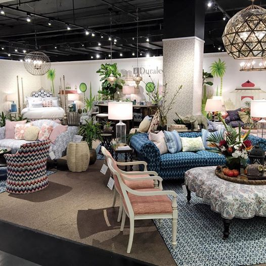 Duralee fabric and furniture in High Point, North Carolina Showroom, Fall 2016 idssuncoast.com