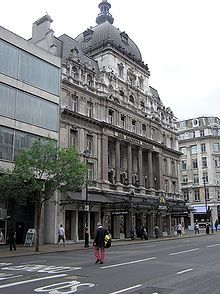 Her Majesty's Theatre in Haymarket, home to Andrew Lloyd Webber's The Phantom of the Opera.