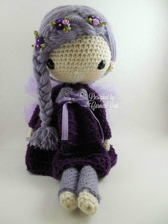 Cute Lilly Goes To Bed - Lilly Doll Crochet Pattern By ... | 760x570