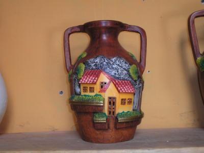 Jarrones en en barro para pintar buscar con google jarrones jarrones botellas pintadas y - Pintar tejas de barro ...