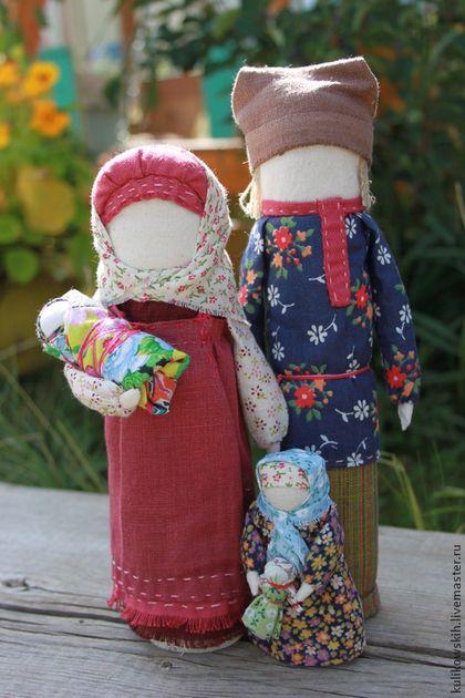 "Народные куклы ручной работы. Ярмарка Мастеров - ручная работа Кукла ""Семья"". Handmade."