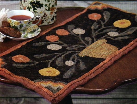 Find This Pin And More On Hooked Rag Rugs By Agatehead.