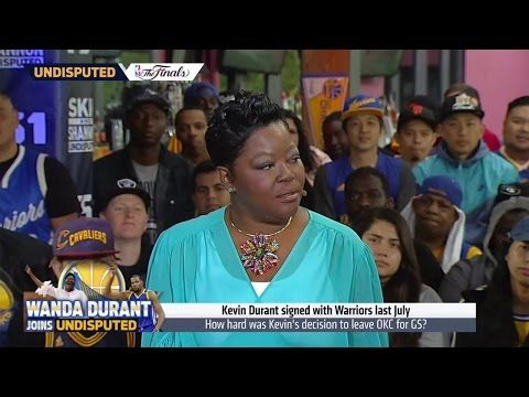 Wanda Durant explains her son Kevin Durant's decision to go to Golden State | UNDISPUTED - YouTube