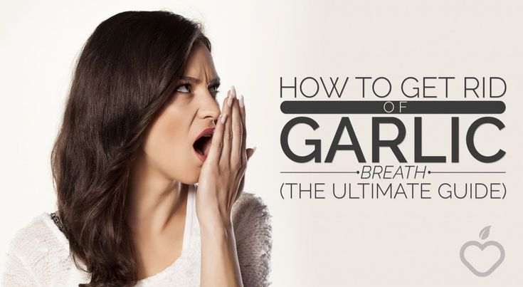 Some great tips here from our friends at @phwofficial on how to get rid of garlic breath!