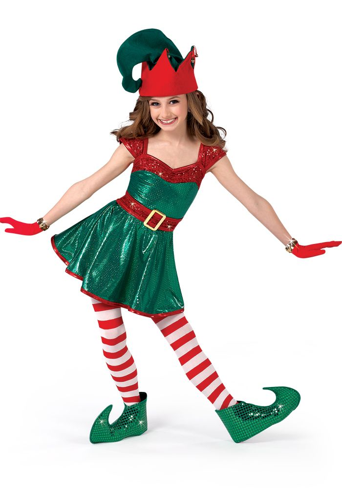 H284 - Santa's Helper, Elf, Christmas Show, Holiday Recital