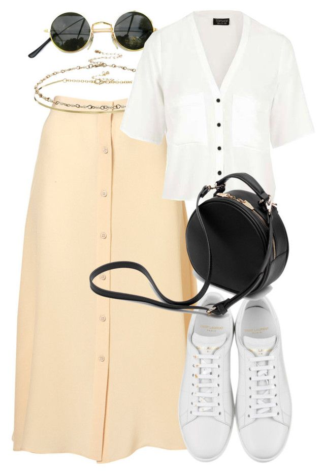 """""""Untitled #5523"""" by rachellouisewilliamson on Polyvore featuring Nude, ASOS, Topshop, Yves Saint Laurent and Zara"""