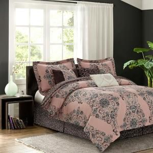 Sara B. Blushing Rose 3-Piece Twin Comforter Set