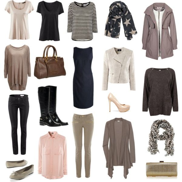 Capsule wardrobe for a Nordic spring cruise