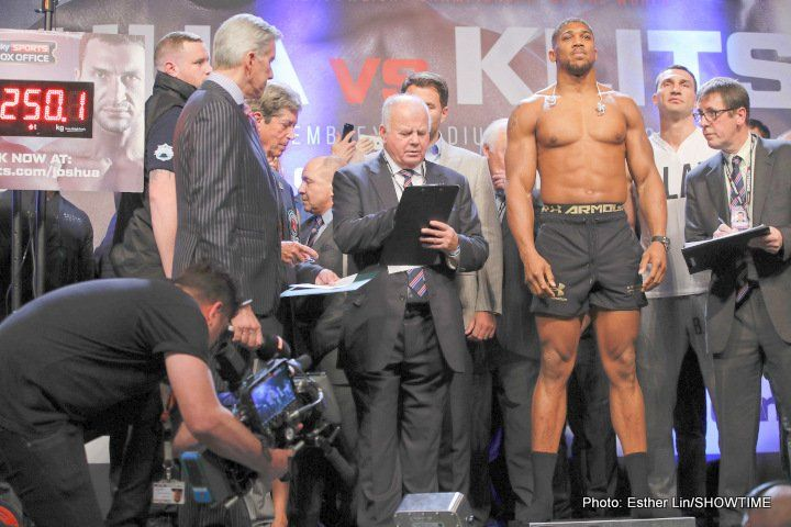 Mike Tyson: Anthony Joshua reminds me of a young George Foreman; he is a beast
