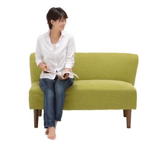 NC022ソファ 2人掛け ライトブルー 通販|インテリア・家具のノーチェ