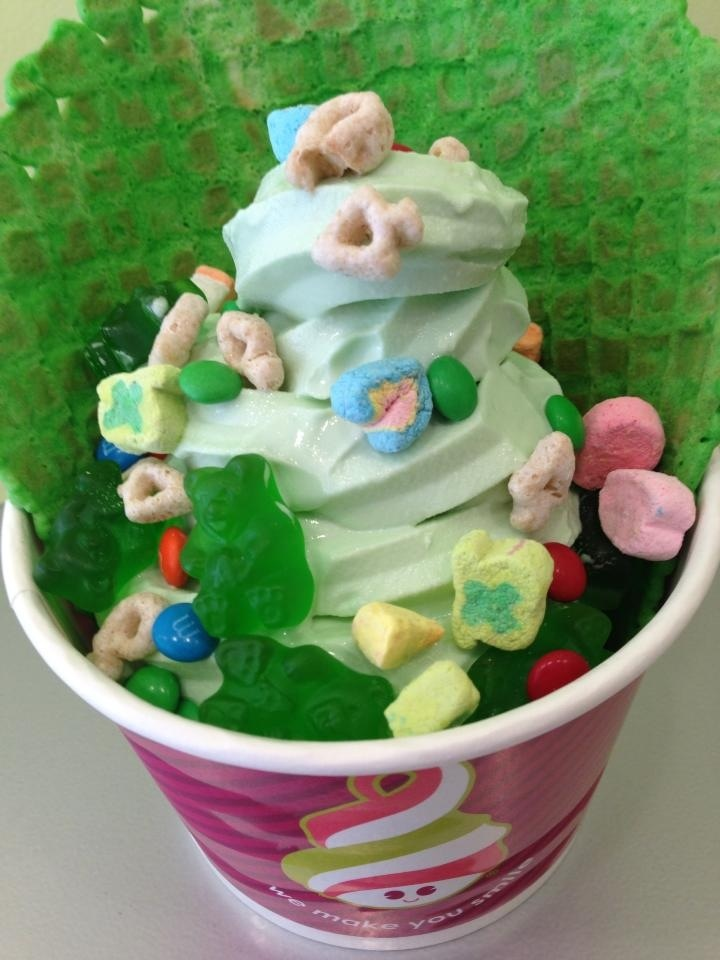 Menchie's Frozen Yogurt.