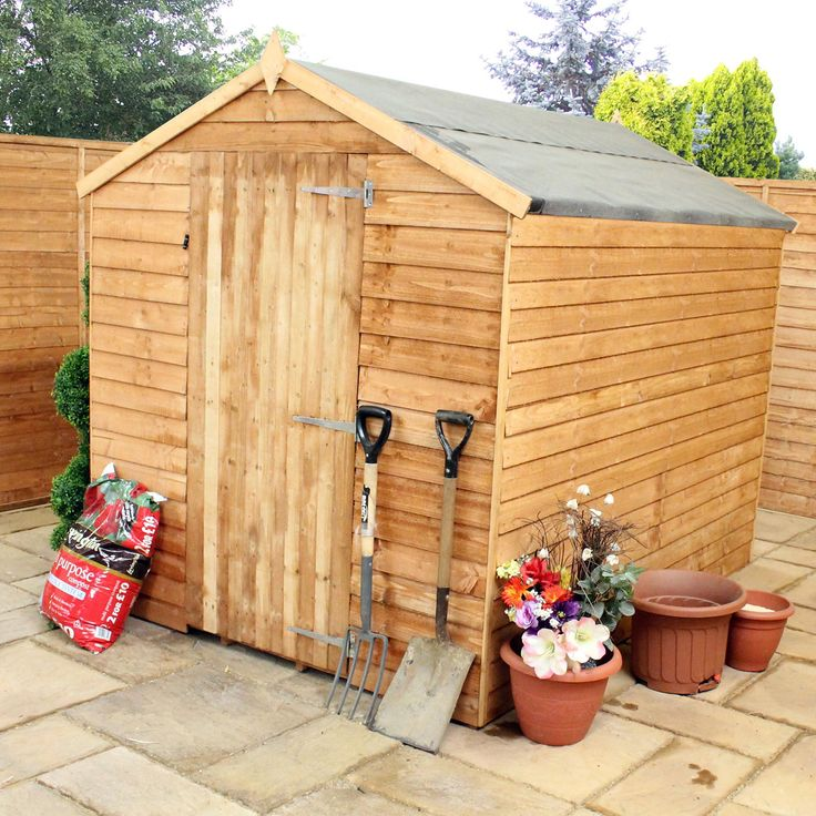winchester overlaps windowless shed next day delivery winchester overlaps windowless shed - Garden Sheds Quick Delivery