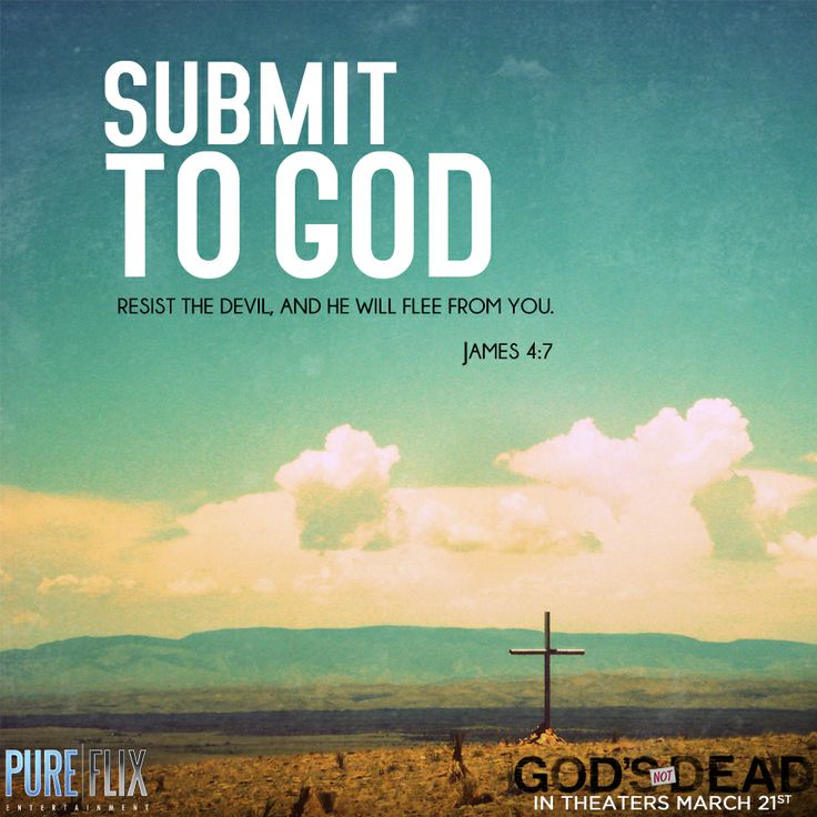 Submit to God -...