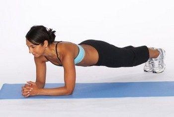 Занятие спортом: Поза Планки для стройной талии