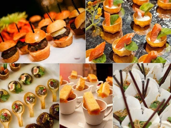cocktail canapes wedding ideas pinterest