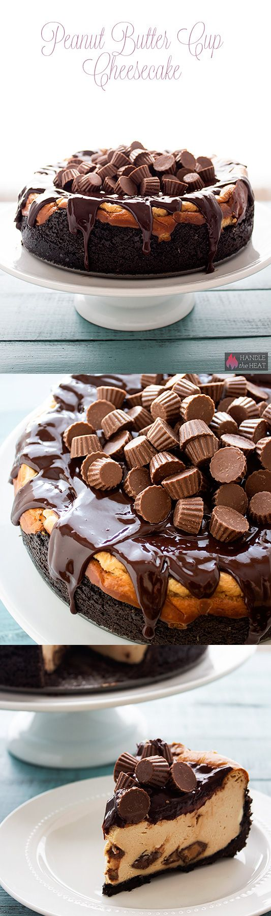 Peanut Butter Cup Cheesecake - out of this world decadence!