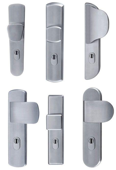 mid century modern door handles