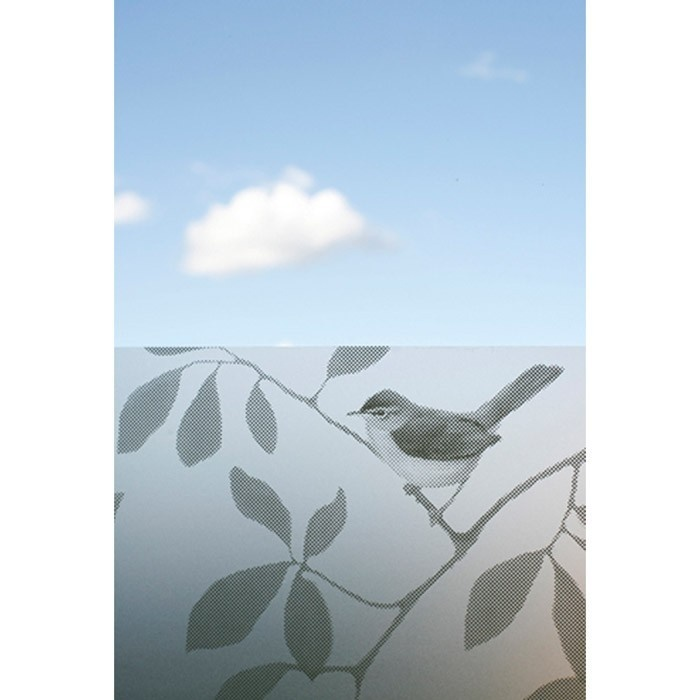 Decorative window screen film - Film occultant (LaPaDD)