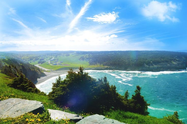 Middle Cove Beach, Newfoundland, Canada