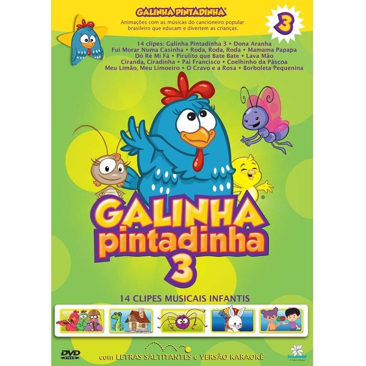 DVD - Galinha Pintadinha 3 - Infantil no CasasBahia.com.br - $24.60 (+ 5.04 do frete)
