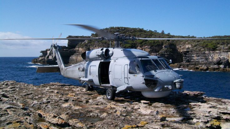 Sikorsky S-70B-2 Seahawk, Drum and Drumsticks, Beecroft Peninsula NSW - February 2014