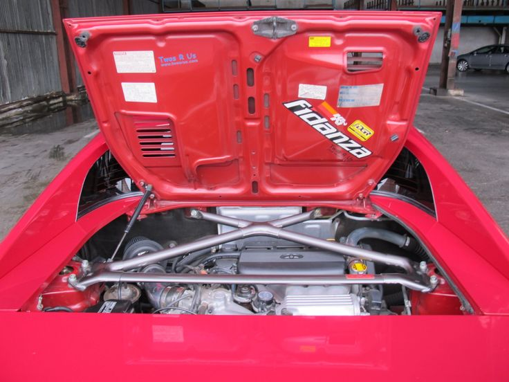 Toyota MR2 with Lexus V6 engine swap.