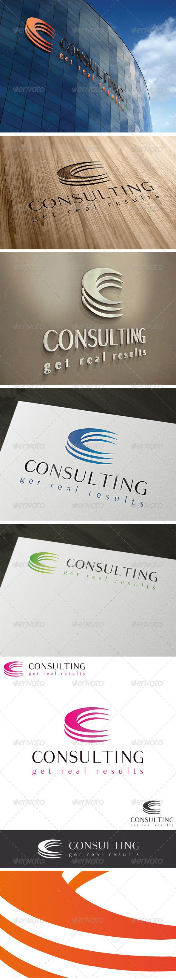 Consulting Letter C Logo Template