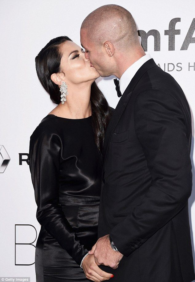 Not shy...Adriana Lima was sure to look her very best when she arrived at the amfAR Gala ...