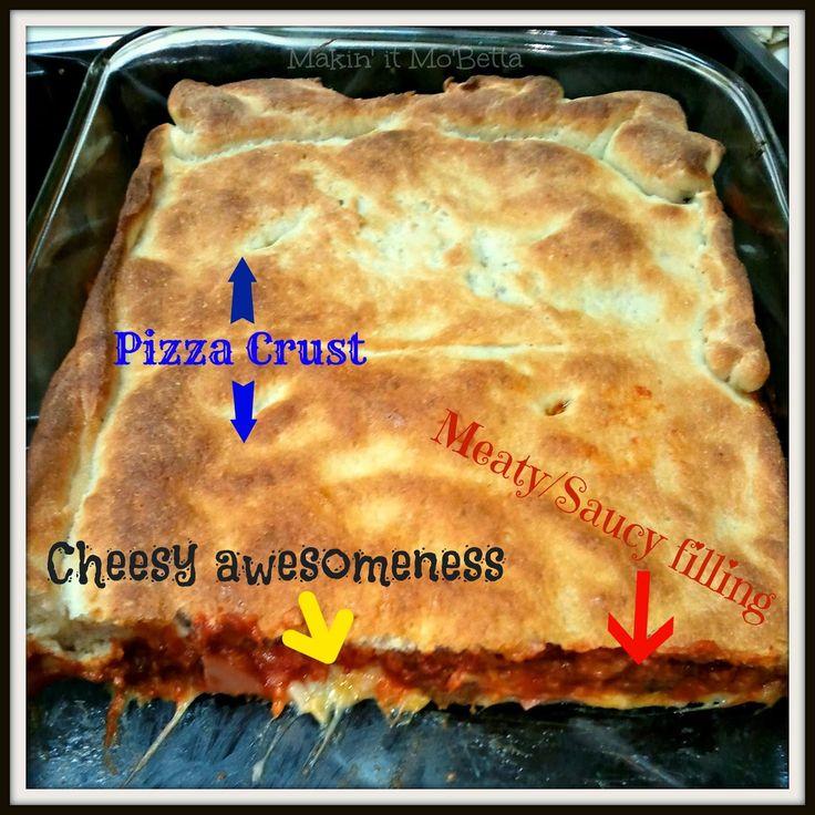 Upside Down Pizza Casserole - Makin' it Mo'Betta