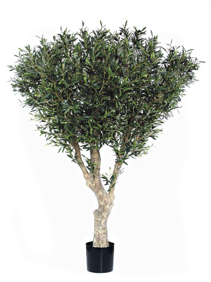 Olivo artificial con olivas 2 metros de altura especial - Arboles artificiales grandes ...
