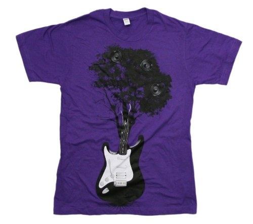Tree Guitar S/S Mens T-shirt in Purple by Dress Code ClothingGuitar S S, Men T Shirts, S S Men, Men'S T Shirts, Codes Clothing, Dress Codes, Trees Guitar, Dresses Codes
