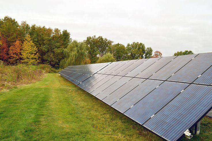 Consulting Engineering Services, Inc. - Middletown, CT Newly installed grount mounted solar panels help to produce 40% of our electrical needs.