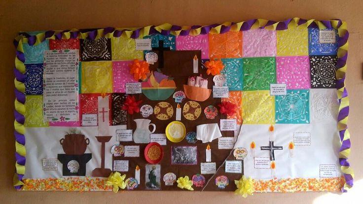 M s de 25 ideas incre bles sobre periodico mural octubre for Elementos del periodico mural