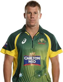 David Warner    Role: Batsman    Bats: LHB    Bowls: LB    Date of Birth: 27 Oct 1986    David Warner made a history-making international debut in 2009, becoming the first man to represent Australia without a first-class match to his name since 1877.