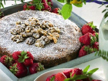 Choklad- och valnötskaka Receptbild - Allt om Mat