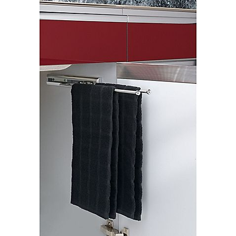 New Rev A Shelf C Chrome Under Cabinet Prong Pullout Towel Bar