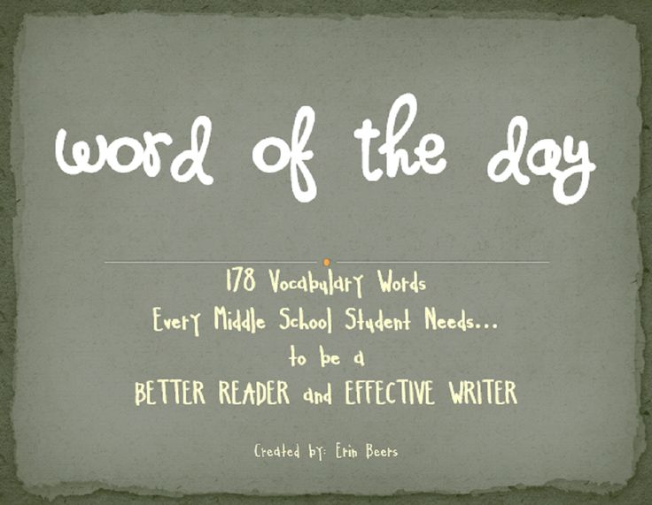 Students will be introduced to vocabulary words that will make them become more fluent in both their reading and writing. This is a MUST HAVE classroom resource! -Clip art to accompany definitions -Word of the Day student organizer -Table of Contents -Clear directions to utilize in your classroom more effectively -Student notes for review of: parts of speech, synonyms, antonyms, prefixes, suffixes, root/base words -Lists of words for student tracking