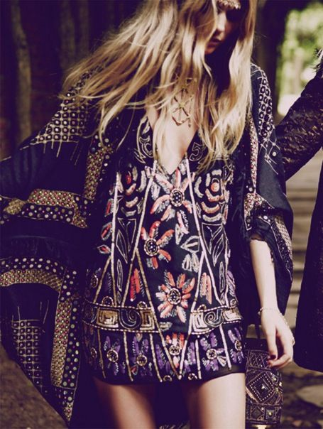 Hippie Bohéme Boho Style. For more follow www.pinterest.com/ninayay and stay positively #inspired.
