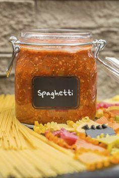 Przetwory z pomidorów - sos do spaghetti