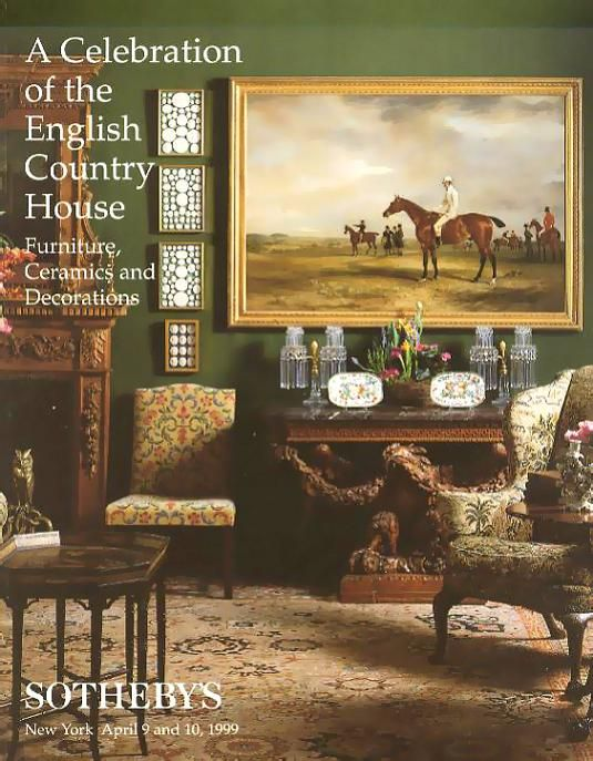 English Country House Sale @ Sothebys