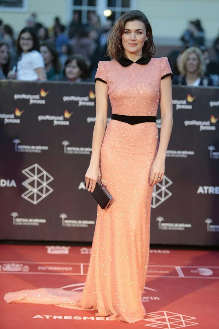 Festival cine malaga pink shiny outfit