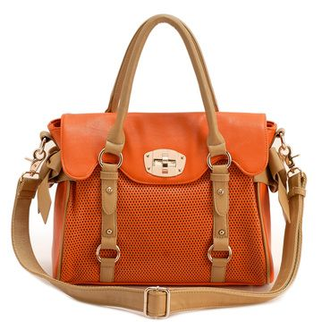 .: Colors Combos, Fawns Colors, Spring Colors, Handbags Messenger, Summer Bags, Carrie Handbags, Purses 3, Orange Bags, Handbags Accessories