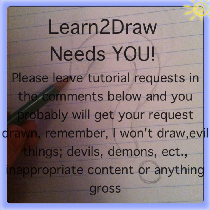Learn2Draw tutorial requests