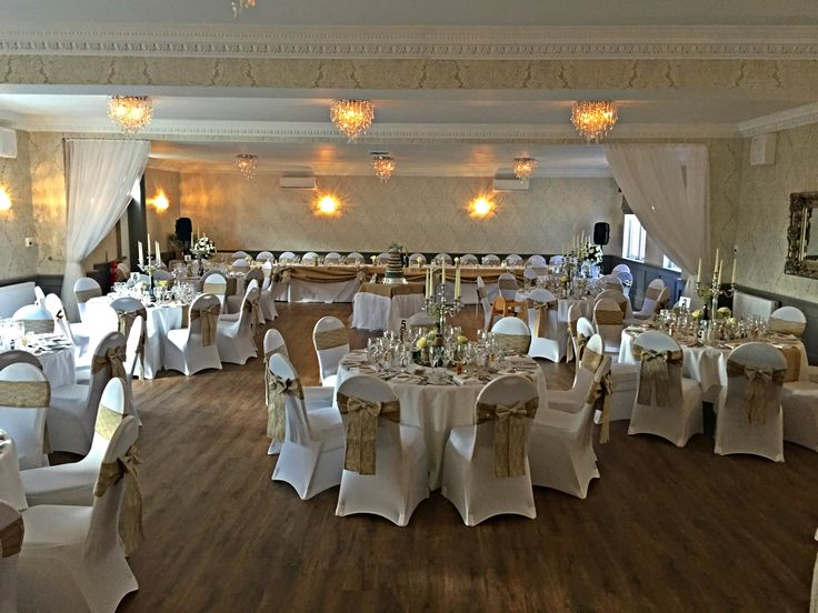 Our New Ballroom Set Up For A Wedding Boutique Spa Hotel Located In Alloa Near