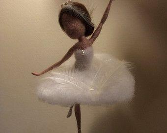 Nadel Gefilzte Elf Waldorf inspirierte wolle Fairy von DreamsLab3