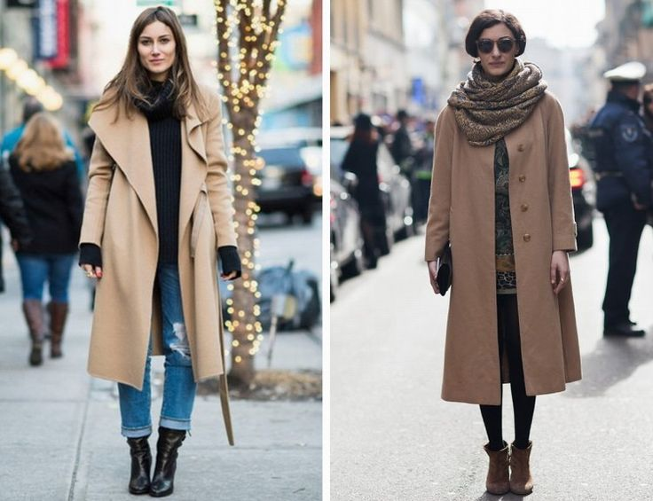 Streetstyle: Camel Coats