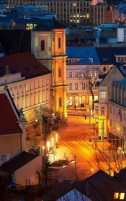 Bratislava at night, Slovakia | by Miroslav Petrasko