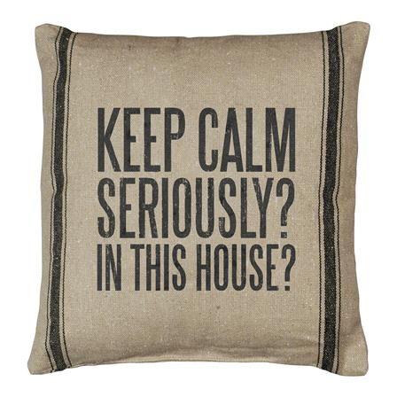 Keep Calm 40x40cm Cushion